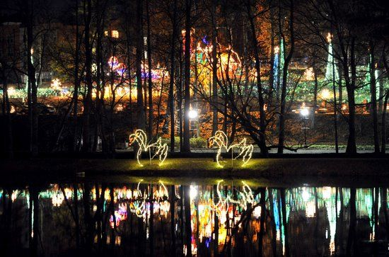 Christmas Lights At Lake Lanier