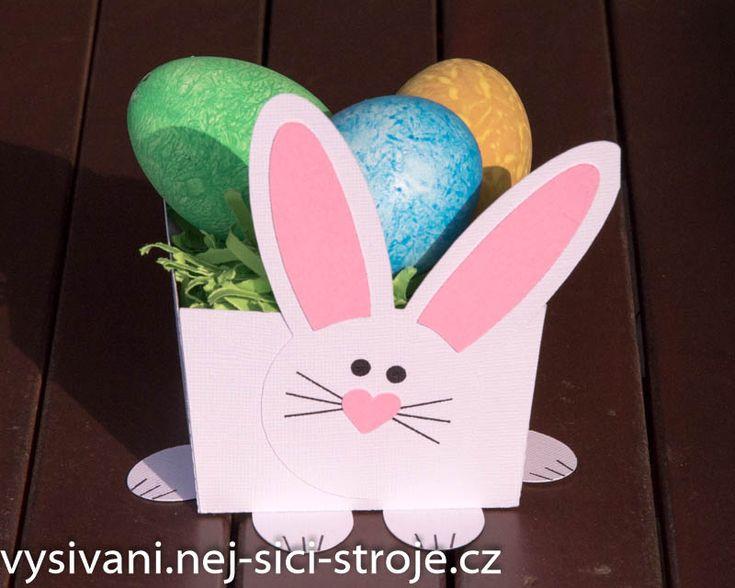 Návod - Velikonoční dekorace zajíček