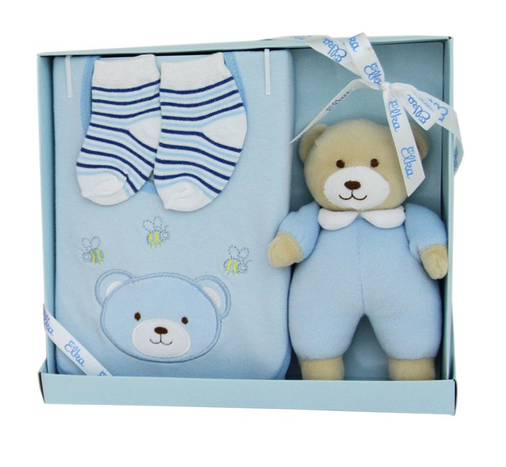 Newborn Baby Boy Gift Set. Available at Baby Presents online store. www.babypresents.net.au