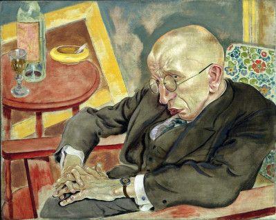 grorsz_herman - Bildnis Max Hermann-Neisse ,1927