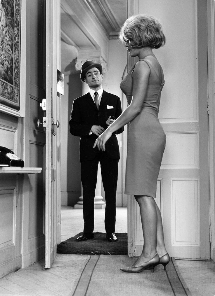 The Nailed Down Look. Pierre Étaix,withDenise Péronne, 1966.