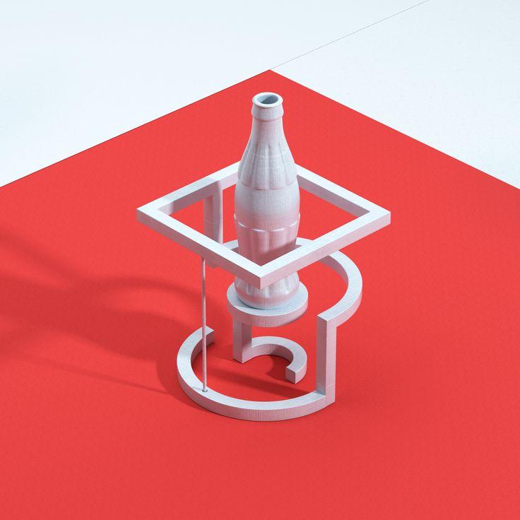 다음 @Behance 프로젝트 확인: \u201cCoca-Cola 3D Print\u201d https://www.behance.net/gallery/48457251/Coca-Cola-3D-Print