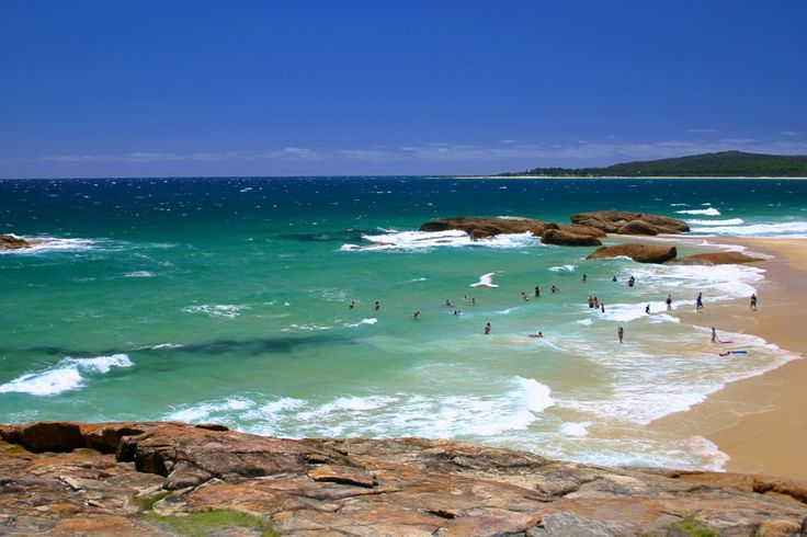 Main Beach South West Rocks NSW Summer breeze