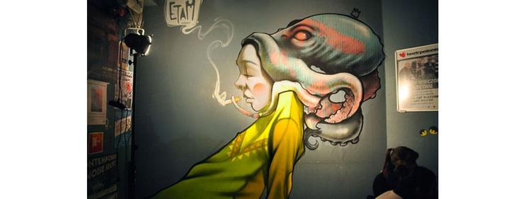 We All Live With Demons. http://theutee.com/we-all-live-with-demons/: Street Artists, Inspiration, Believed Etam, Canvas, Art Installations, Octopuses, Etamcru, Streetart, Graffiti Art