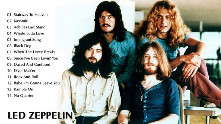 Led Zeppelin's Greatest Hits || Best Songs Of Led Zeppelin ( Full Album ...