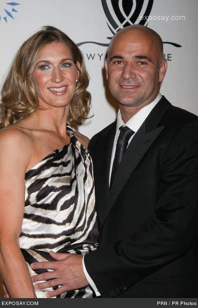 STEFFI GRAF & ANDRE AGASSI: the union of two tennis stars from different cultures. Born in 1969 in West Germany, Graf is the first & only tennis player (male or female) to win all four Grand Slam singles titles and the Olympic gold medal in the same calendar year. Agassi was born in 1970 in Las Vegas, Nevada, and is considered to be one of the greatest tennis players of all time. His father, a former Olympic boxer for Iran, is of Armenian descent. His mother is an American.