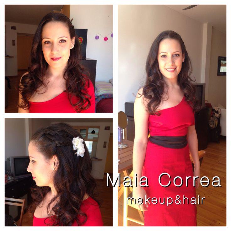 Ma Eva, maquillaje y peinado civil #bride #makeup #hair