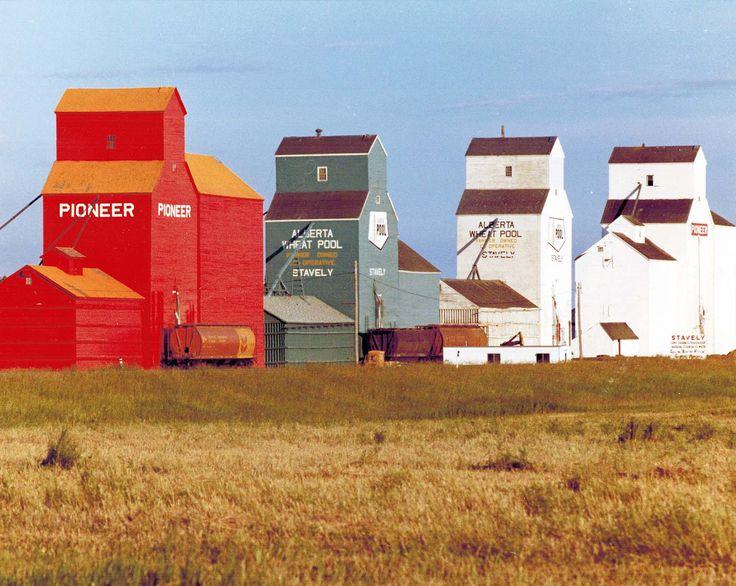 grain elevators-Alberta