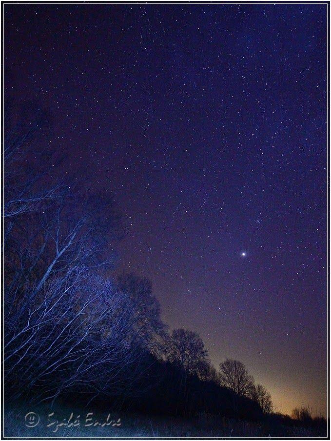 fotónapló: csillagos ég