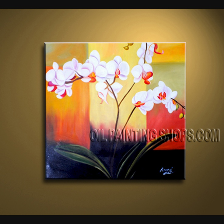 9 best Floral Paintings - Orchid Flower images on Pinterest | Oil on ...