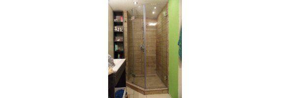 Kétajtós, 135 fokos sarok zuhanykabin