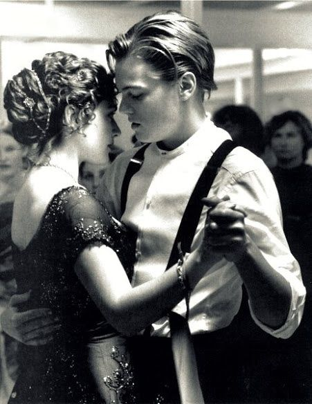 Non-fictional, but everyone knows the epic journey of the Titanic, and this is such a gorgeous picture <3