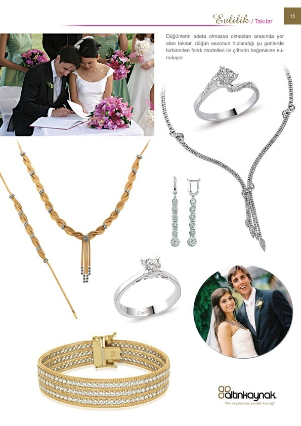 Evlilik ve takılar
