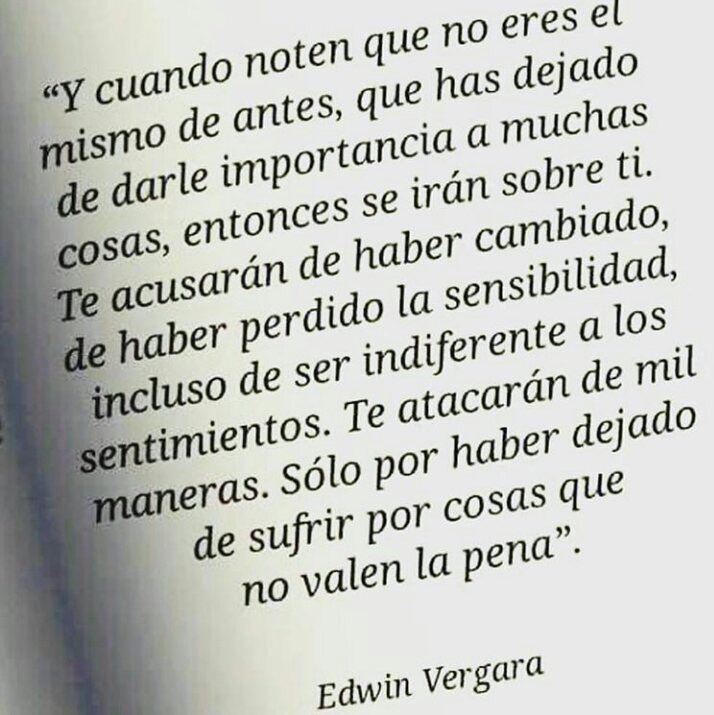 Edwin Vergara. Totalmente cierto.