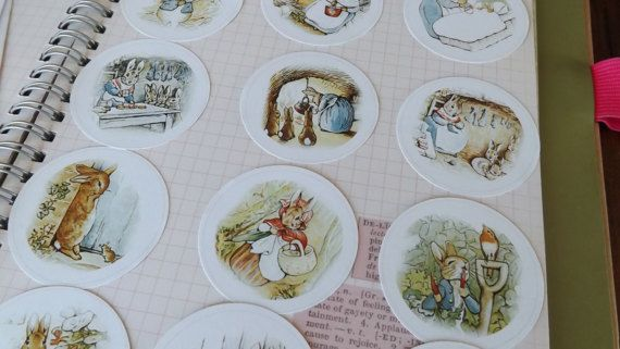 Check out this item in my Etsy shop https://www.etsy.com/ca/listing/520498501/peter-rabbit-stickers-peter-rabbit-label