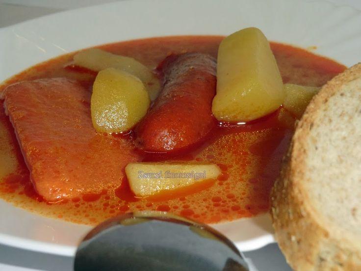 Krumplileves avagy burgonya leves