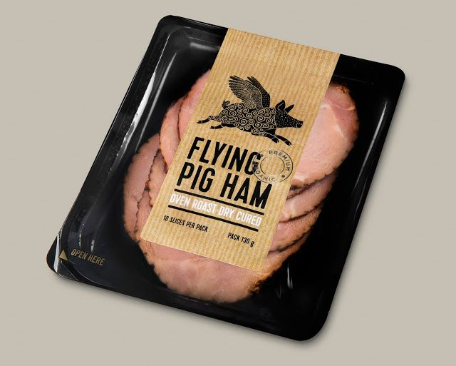 Flying Pig Ham on Packaging of the World - Creative Package Design Gallery