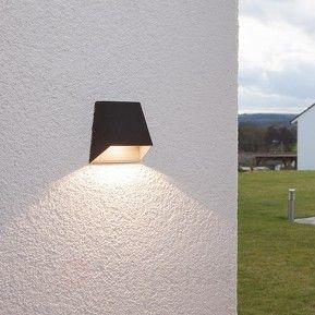 Breedstralende buitenwandlamp Hanno met led veilig & makkelijk online bestellen op lampen24.nl