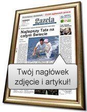 News o najlepszym Tacie w gazecie
