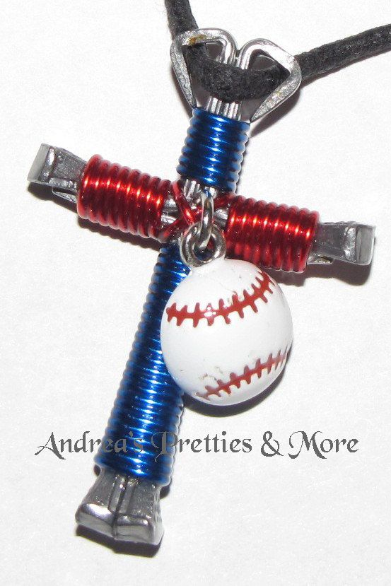 Disciples Cross Horseshoe Nail Necklace by AndreasPrettiesNMore, $9.00