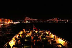 Enjoy Istanbul's historical sites and a belly dancing show with a dinner cruise on the Bosphorus. http://www.allistanbultours.com/bosphorus-dinner-cruise/