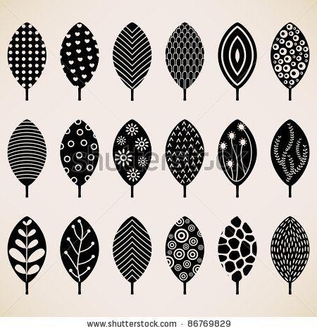 Leaf Pattern Texture Design
