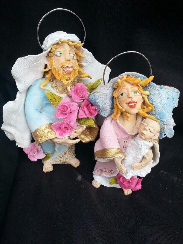 Nativity ceramic