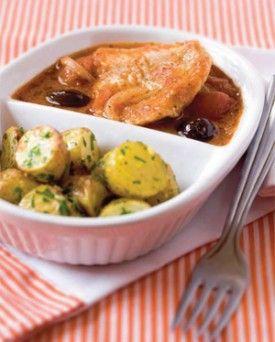 Aqua pazza met roodbaars en aardappelen met gremolata - Recepten - Culinair - KnackWeekend.be