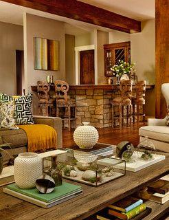 Danish Revival Luxe - eclectic - living room - portland - by Garrison Hullinger Interior Design Inc.