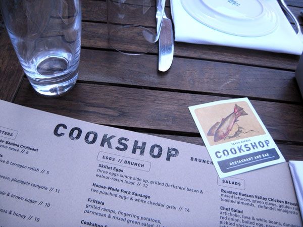 A favorite of the M'Odettes for between show snacks during #NYFW: Cookshop