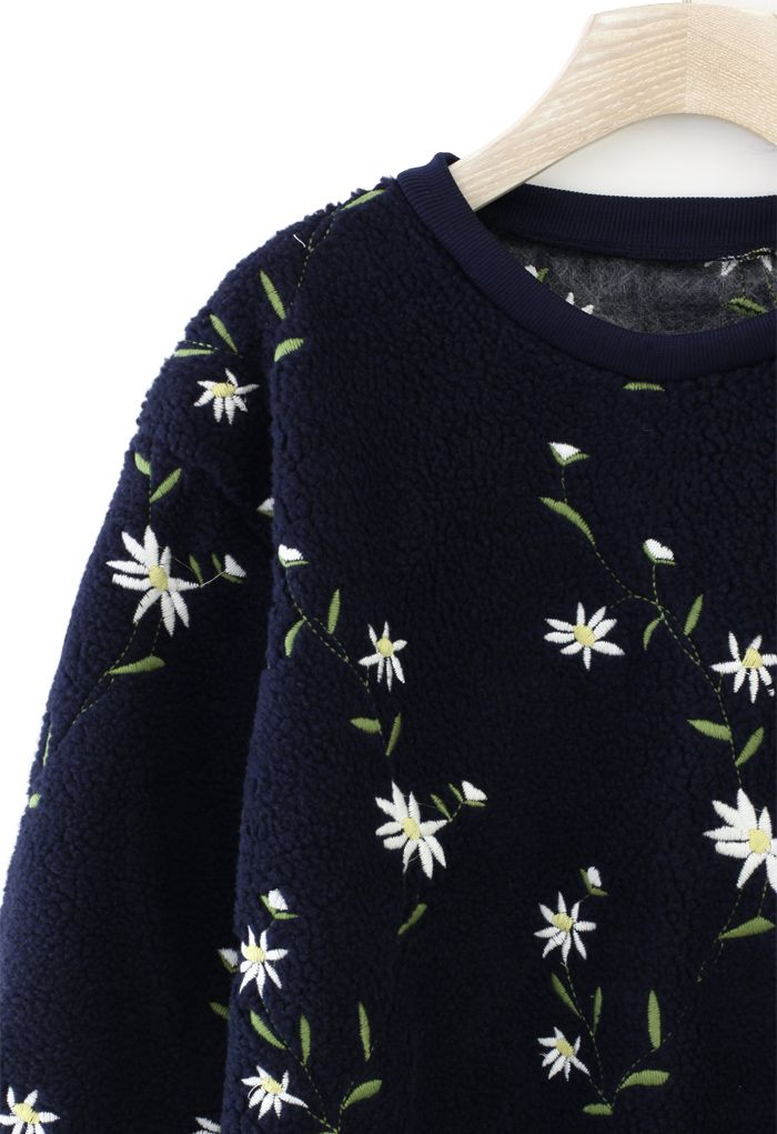 Floral Embroidered K.N.I.T~