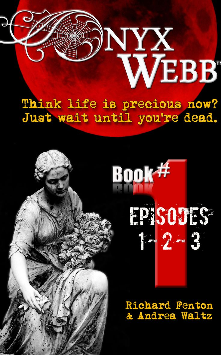 "Onyx #GuestPost By Andrea Waltz & Richard Fenton, #Authors of 'Onyx Webb' ""Book Promotion"" Webb @onyxwebbseries"