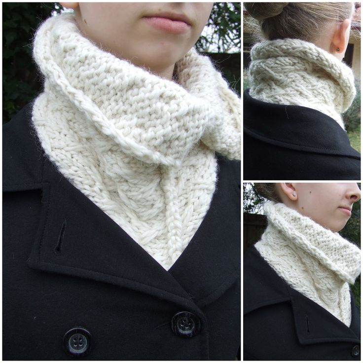 """I was very tempted to call this neckwarmer something like """"Will Winter ever end Neckwarmer"""" or """"That wind feels like it's straight off th..."""