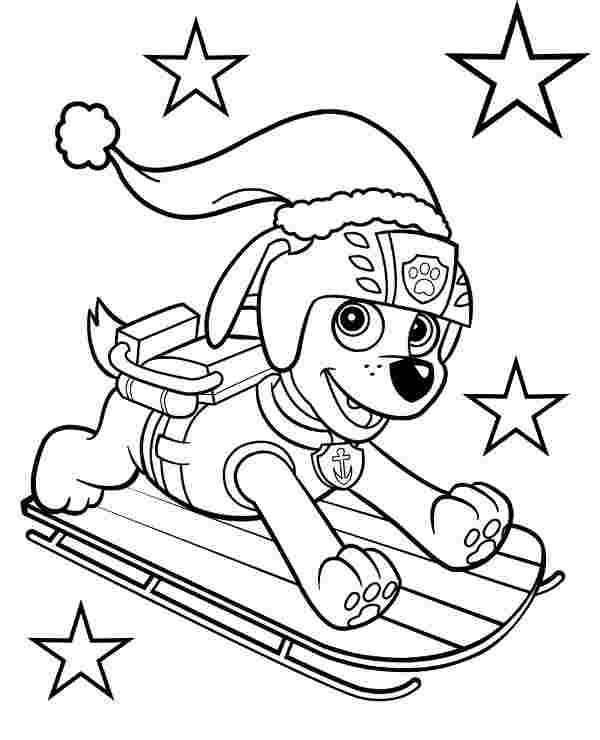 Best Printable Paw Patrol Vehicles Coloring Pages 777