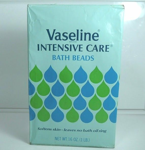Vaseline Intensive Care Bath Beads (1970s)