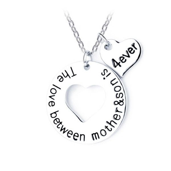 The love between Mother and Son Necklace