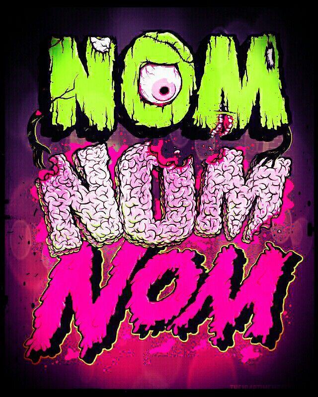 Nom nom nom! Zombie Art