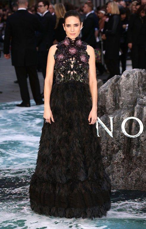 """Дженнифер Коннелли вчера в Лондоне на премьере фильма """"Ной""""."""