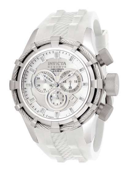 17 best ideas about invicta reserve watches invicta now that s just a classy watch invicta watches men s reserve bolt stainless steel white watch she finally got me my white unicorn