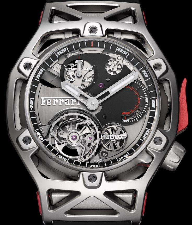 Hublot Techframe Ferrari Tourbillon Chronograph Watch Celebrating Ferrari's 70th Anniversary Watch Releases