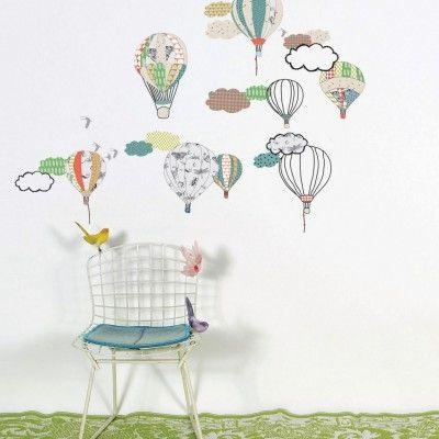 modesto.se - Väggdekor Luftballonger