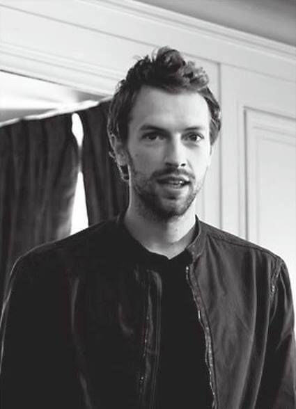 Chris Martin  #Coldplay