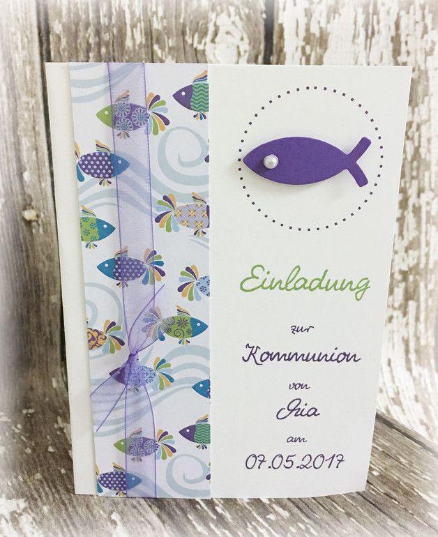 Die Besondere Einladung Für Einen Besonderen Tag Im Leben Ihres Kindes!    Doppelkarte Aus Hochwertigem