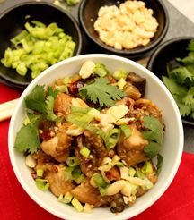 Now for something Japanese... Kung Pao Chicken!