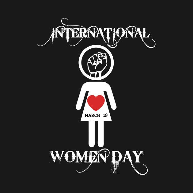 Check out this awesome 'Happy+International+Womens+Day' design on @TeePublic!
