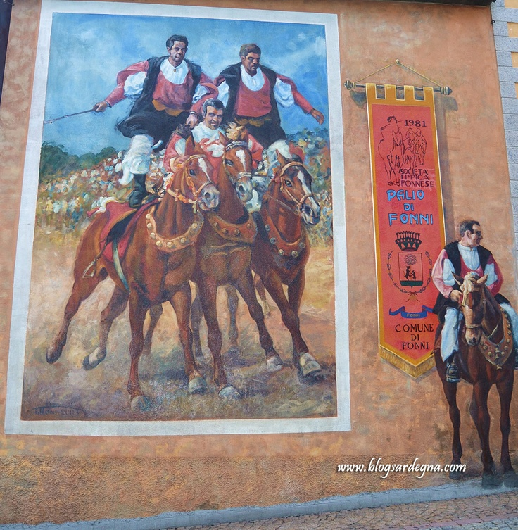 #Murales a #Fonni #Sardegna #Sardinia