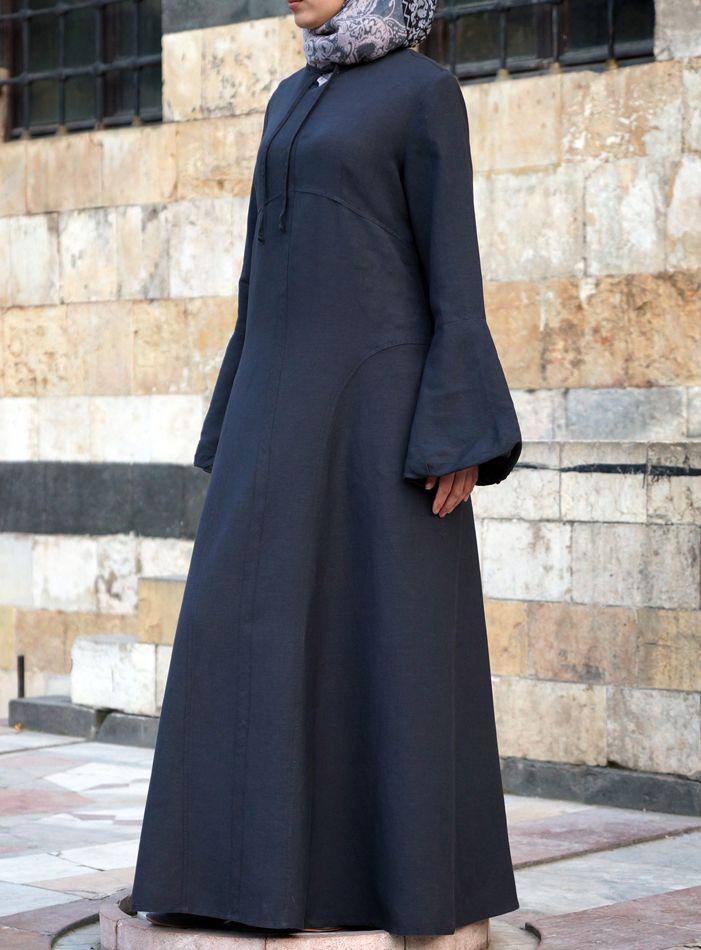 SHUKR USA | Linen Princess Dress