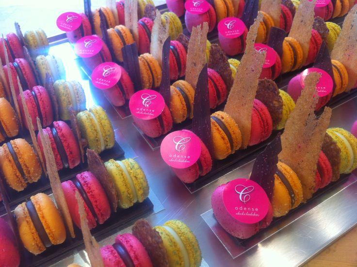 Macarons fra Odense Chokoladehus