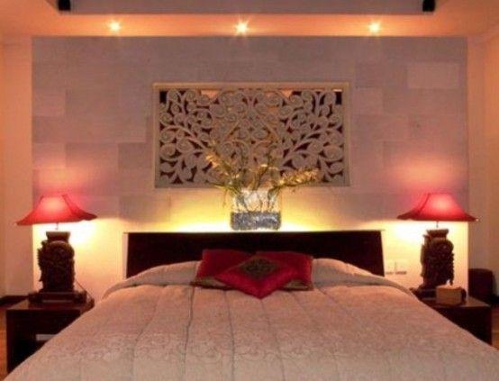 Romantic Bedroom Lighting Ideas With 2 Table Lamp   http   lanewstalk com. 21 best Romantic Bedroom Lighting Ideas images on Pinterest