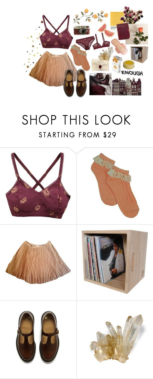 """""""exhausted"""" by internetgirl ❤ liked on Polyvore featuring Disney, RVCA, Stella Forest, Dr. Martens, Bergdorf Goodman, Leica, Scotch & Soda and duty free"""